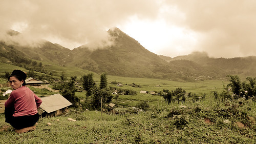 Somewhere in the Sapa highlands...