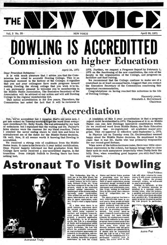 The True Birthday of Dowling College?