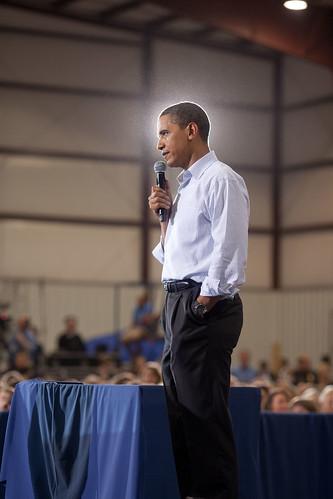 Obamas Heiligenschein