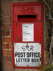 GR Postbox, Nayland, Suffolk.