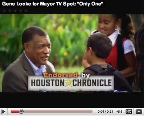Gene Locke for Mayor: Only One