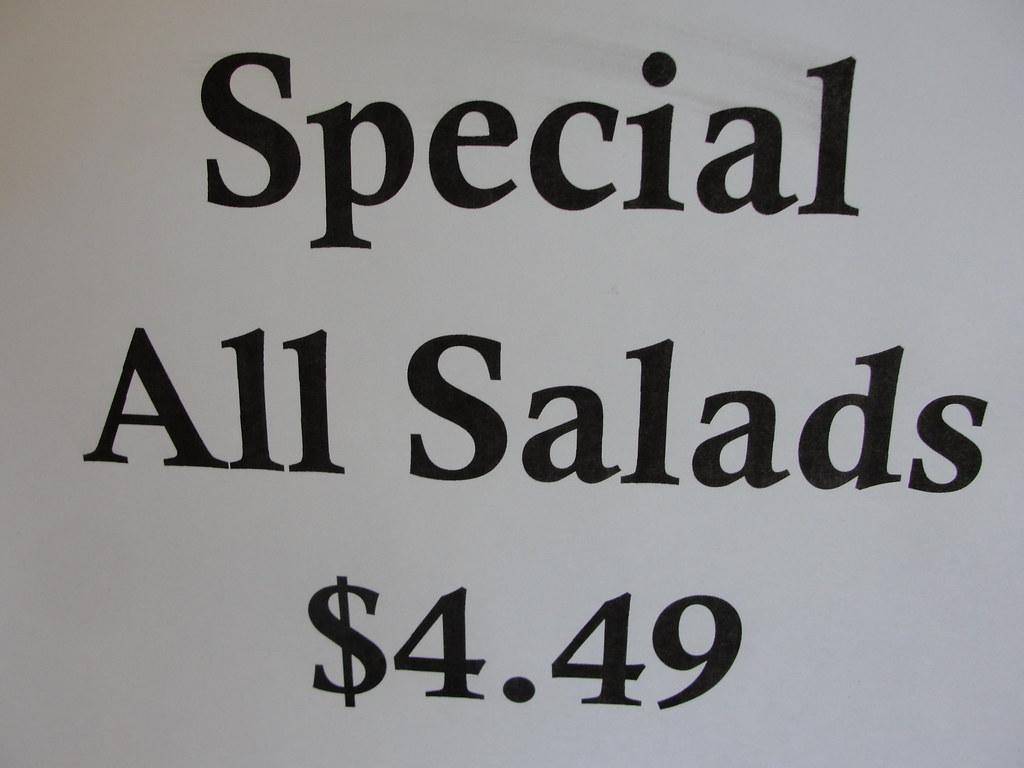 Culina Cafe Salad Special