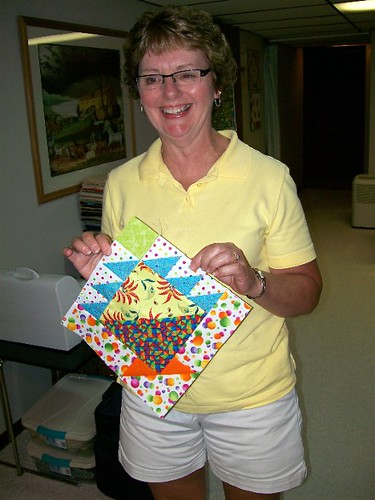 Jean's Basket Block 1