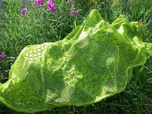 Its like a sampler shawl, right?  So very pretty!!