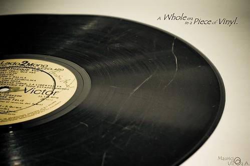A Whole era in a Piece of Vinyl.