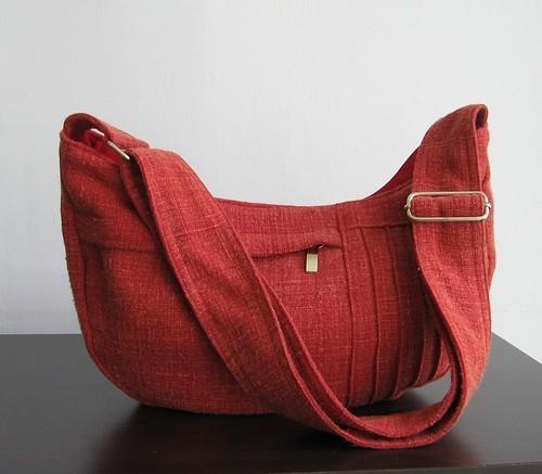 กะปิ๋วของหนู ใบนี้ทำจากผ้าฝ้าย