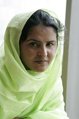 Portrait of Mukhtar Mai, Education and Women's...