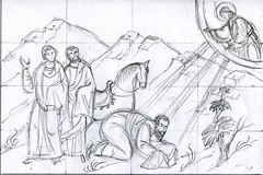 Conversion of Paul sketch