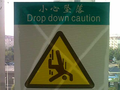 """Visual Communication in China: """"Beware of Suiciders"""""""