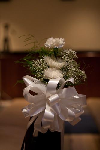 aisle wedding decoration