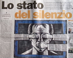 Freedom of the press in Italy.