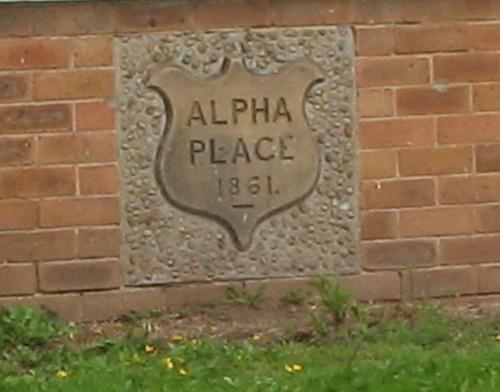 Alpha Place Stone, Saltburn