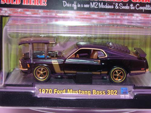 M2 Boss Mustang chase