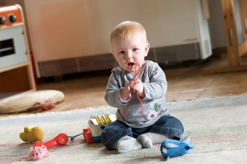 Floortje (6 maand) (Foto op Flickr van houbi)