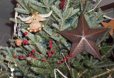 christmas tree, horses 022