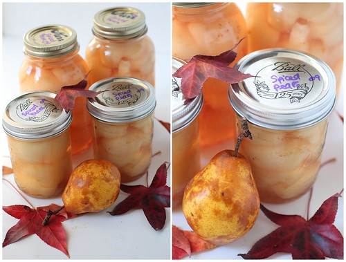 Spiced Pears Diptych