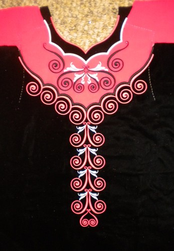MJ bodice front