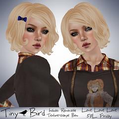 Tiny Bird - 50L Love Love Love - Vanilla