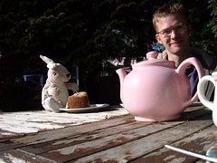 Mr Bunny's first tea party