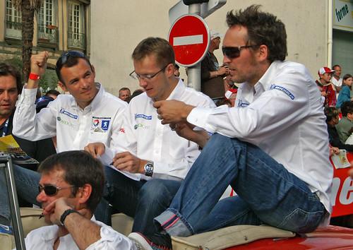 Stephane Sarrazin, Franck Montagny, Sebastien Bourdais