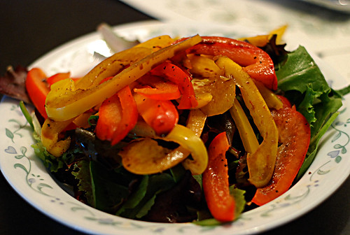 Warm Bell Pepper Salad