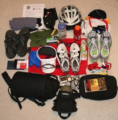Triathlon Packing Plan