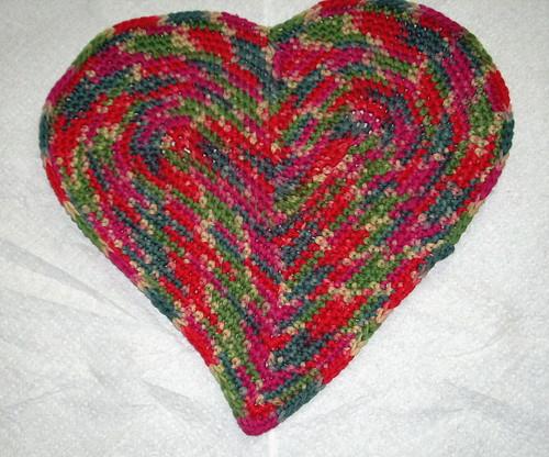 Heart Pillow half