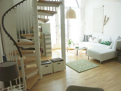 Neutral Love: Apartment In Frankfurt