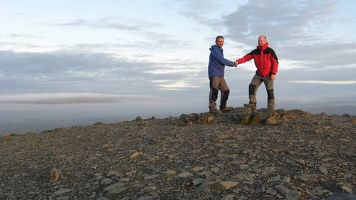 On Halls Fell Top...the summit of Blencathra