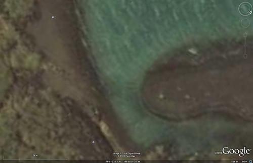 Kiholo Bay - Google Earth Imagery