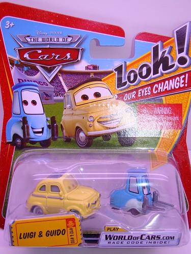 CARS Lenticular guido and luigi