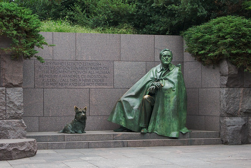 7062 Franklin Delano Roosevelt Memorial, Washington, DC