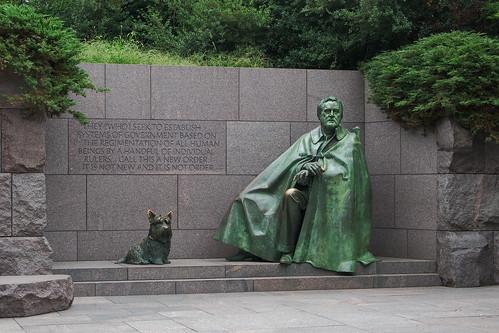 7062 Franklin Delano Roosevelt Memorial, Washington, DC