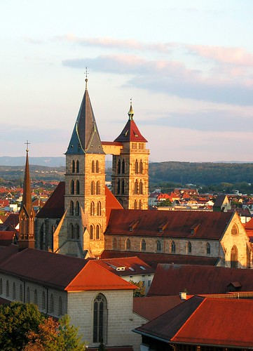 Esslingen - Blick von der Neckarhalde