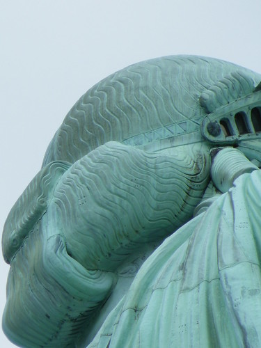 Image result for statue of liberty hair detail