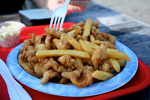 First fried clams of the summer!