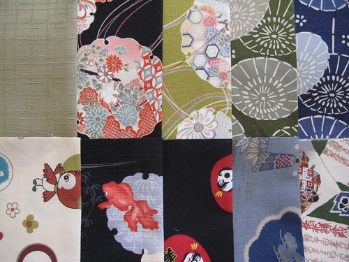 Winter 09 Kimono House fabric club by you.