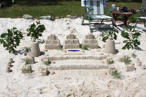 Mikes Sandcastle Masterpiece