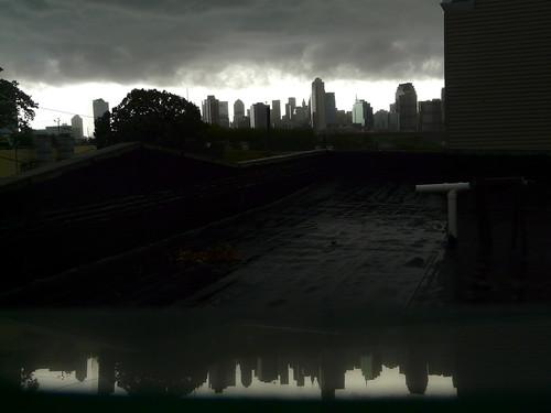 Cuando llueve en Manhattan