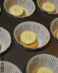 banana pudding/cream pie cupcakes