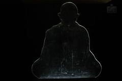 Simplicity - Gandhi's silhouette