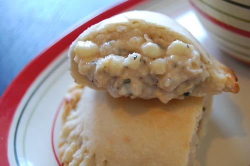 Creamy Corn Empanadas