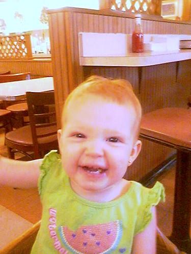 Alyssa at Breakfast!