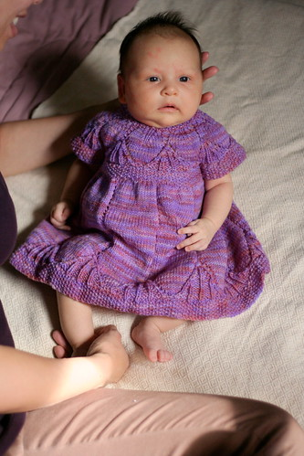 Clara Dress on my niece Lillian