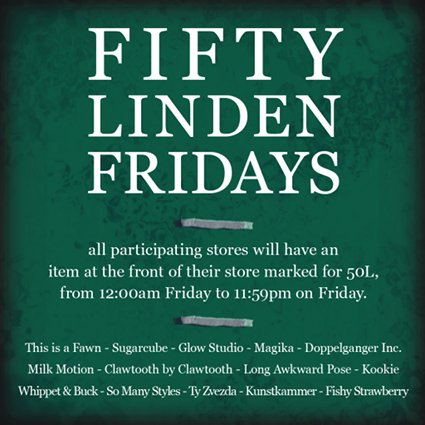 Fifty Linden Fridays 14