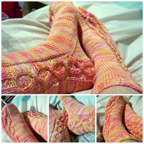 AM sock pair mosaic