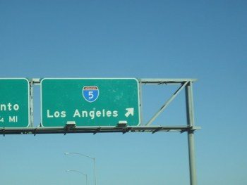 goin out to angeles...