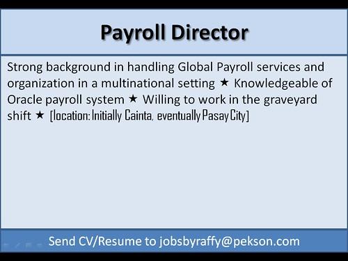 Payroll Director