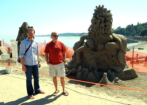 Port Angeles sand sculpture contest.