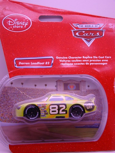 CARS Disney Store Shiny Wax